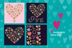 Love and hearts. Product Image 4