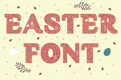 Easter Font Product Image 1