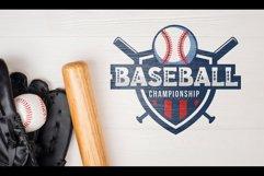 Baseball Slab Outline Font Product Image 1