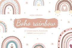 Boho rainbow vector bundle Product Image 1