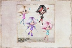 Michi 33 Fairy,Fae Clip Art, Journal, sublimation Product Image 1