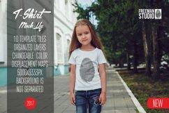 Kids T-Shirt Mock-Up Vol 8 2017 Product Image 1