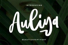 Web Font Aulia - Beauty Script Font Product Image 1