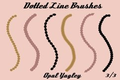 18 Dotted Lines Procreate Brushes Product Image 4