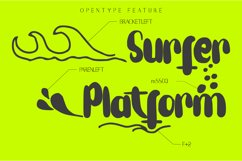 Wave Tidal Quirky Handwritten Font Product Image 5