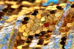 Colorful sequins textile background Product Image 1