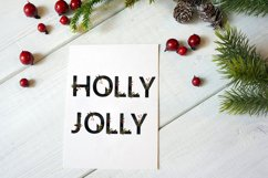 Christmas Eve - font duo SVG and script Product Image 2