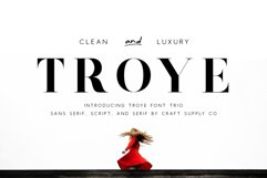 Troye Font Trio Product Image 1