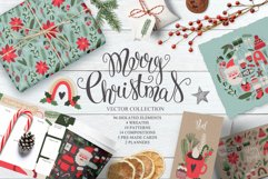 Merry Christmas Vector Set Product Image 1