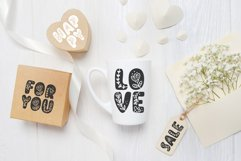 Flower Hand Drawn display Font Product Image 3