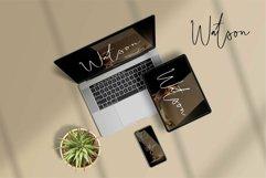 Web Font Sawyer - A Handwritten Script Font Product Image 2