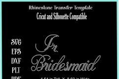 Wedding Rhinestone Template - Jr. Bridesmaid Product Image 2