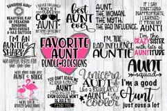 FAVORITE Aunt Bundle - 13 Designs Included - SVG PNG EPS DXF Product Image 1