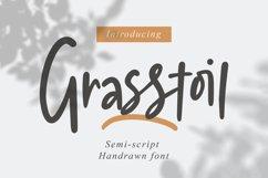 Grasstoil - Handwritten Fonts Product Image 1