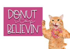 Sprinkled Donut - A Handwritten Font Product Image 6