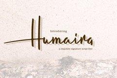 Humaira Script Product Image 1