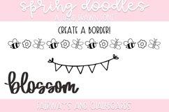 Spring Doodle Font   Doodle Font Product Image 5