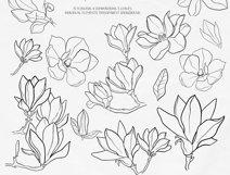 Magnolia Outline Set Product Image 3