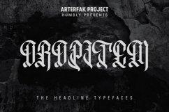 Oropitem Typeface Product Image 1