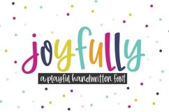 Joyfully Handwritten Font for Crafters Product Image 1