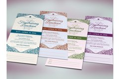Fundraising Luncheon Ticket Template Product Image 3