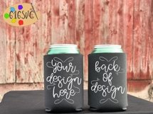 Can Cooler Mockup Bundle 33 Color Choices Product Image 8