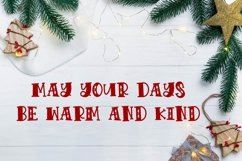VIXEN - A festive Christmas font! Product Image 3
