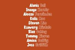 Becak - Solid & Outline Font Product Image 4