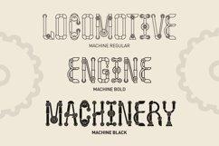 Machine font family Product Image 3