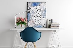 Wall Art Print,many color patterns Product Image 5