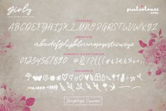 Girly Script Font Product Image 6