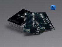Music studio singer business card Product Image 1