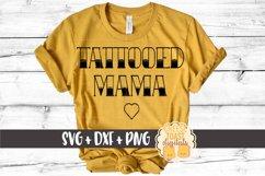 Tattooed Mama - Mom SVG Files Product Image 1