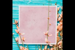 30 Ombre Serenity & Rose Quartz Watercolor Digital Papers Product Image 5