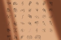 40 couple vector line illustrations. Couple EPS.AI.PNG. SVG Product Image 2