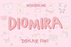 Diomira Display Font Product Image 1