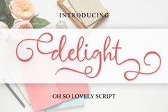delight cute script Product Image 1