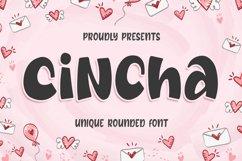 Cincha - Unique Rounded Font Product Image 1