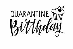 Quarantine Birthday SVG. Birthday 2021 cupcake Svg Cut Files Product Image 2