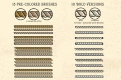 Sailor Mate's Rope Brushes IV - Threads Product Image 3