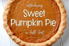 Web Font Sweet Pumpkin Pie Product Image 1