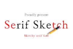 Serif Sketch Product Image 1