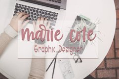 Islander - Hand Lettered Script font - crafting font Product Image 3