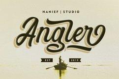 Angler//Modern Script Font Product Image 1
