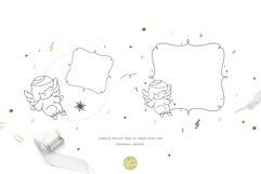 Baby Angels - Cute Baby Clipart Product Image 5