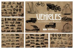 2200 Vintage Graphics Bundle Product Image 17