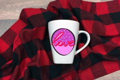 Love Valentines Day Sublimation SVG Product Image 4