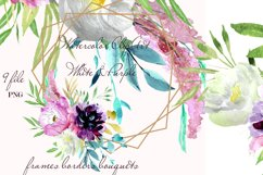 Wedding fowers Frame invites clipart Product Image 1