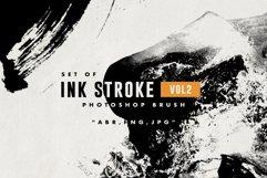 Set of Ink Stroke VOL 2 Photoshop Brush Product Image 1