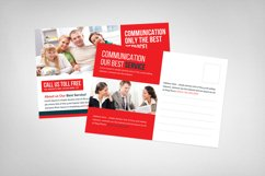Communications Company Postcard Template Product Image 2